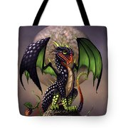 Blackberry Dragon Tote Bag