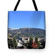 Blackcomb Mountain Tote Bag