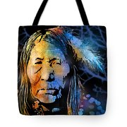 Blackfoot Woman Tote Bag