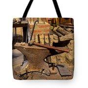 Blacksmith - Anvil And Hammer Tote Bag