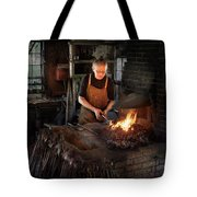 Blacksmith - Blacksmiths Like It Hot Tote Bag by Mike Savad