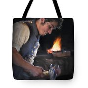 Blacksmith - Pioneer Village Tote Bag