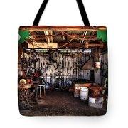 Blacksmith Shop By Kaye Menner Tote Bag