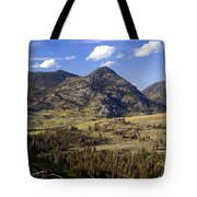Blacktail Road Landscape 2 Tote Bag