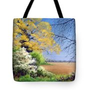 Blackthorn Winter Tote Bag