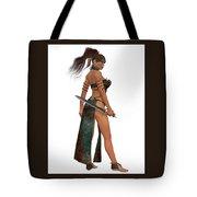 Blackthorn Woman Warrior Tote Bag