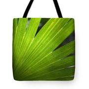 Blades Of Green Tote Bag