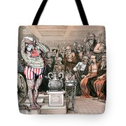Blaine Cartoon, 1884 Tote Bag