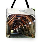 Blair Bridge, Campton Nh Tote Bag