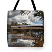 Blair Covered Bridge Tote Bag