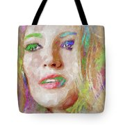 Blake Lively Watercolor Tote Bag