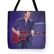 Blake Shelton Guitar 4 Tote Bag