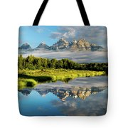 Blame It On The Tetons Tote Bag