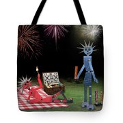 Blanche And Judy Celebrate The Fourth Tote Bag
