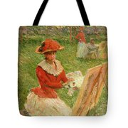 Blanche Hoschede Painting Tote Bag
