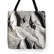 Blandings Angelfish Tote Bag