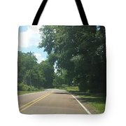 Blank Road Tote Bag