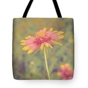 Blanket Flower Portrait Tote Bag