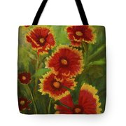 Blanket Flowers Tote Bag