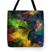 Blanket Of Stars Tote Bag