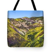 Blanketed In Flowers Tote Bag