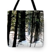 Blanketed In Snow Tote Bag