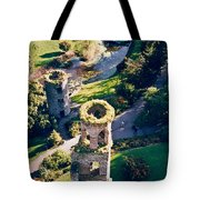 Blarney Castle Ruins In Ireland Tote Bag