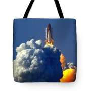 Blastoff Tote Bag