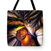 Blaze Abstract Tote Bag
