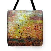 Blazing Prairie Tote Bag