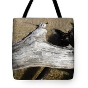 Bleached Driftwood Tote Bag