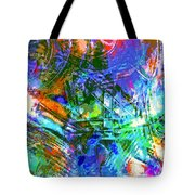 Bleached Vibrance Tote Bag