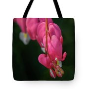 Bleeding Hearts Flowers Tote Bag