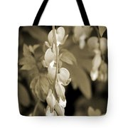 Bleeding Hearts In Sepia Tote Bag