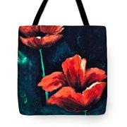 Bleeding Petals Tote Bag