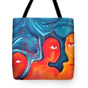 Bleeding Thoughts Tote Bag