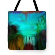 Lands Under The Sea - Abstract Landscape Tote Bag