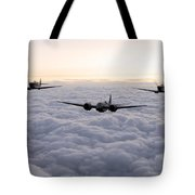 Blenheim And The Fighters Tote Bag