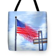 Bless The Usa Tote Bag