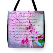 Blessed Are You Tote Bag
