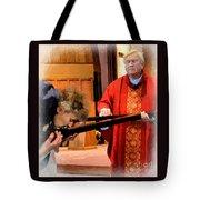 Blessed Be God Forever Tote Bag