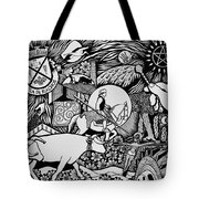 Blessing The Cattle In Riachos Tote Bag