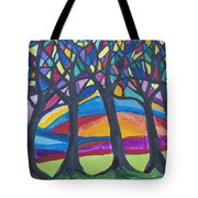 Blessing Trees 3 Tote Bag