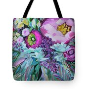 Blessings Come From Raindrops Tote Bag