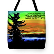 Blessings Of A New Day 2 Tote Bag