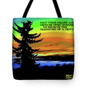 Blessings Of A New Day Tote Bag
