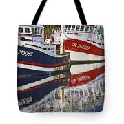 Bleu Blanc Rouge Tote Bag