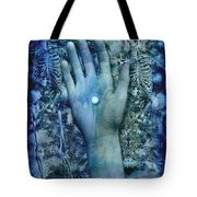 Bleu Danse Macabre Tote Bag