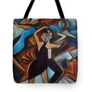 Bleu Danse Tote Bag