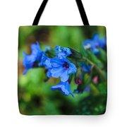 Bleu Tote Bag